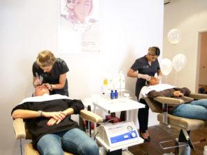 having beauty treatments at HC MedSpa